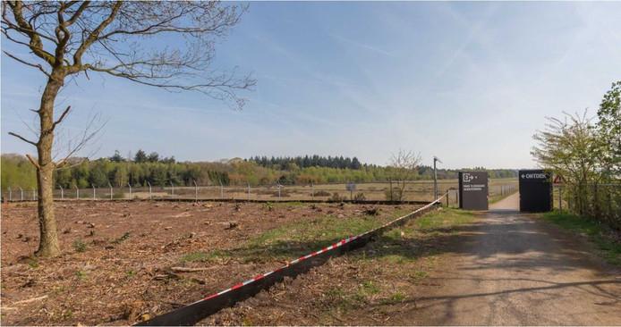 De bouwkavels aan de Dolderseweg grenzen aan de voormalige vliegbasis Soesterberg.