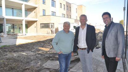 Eerste fase van nieuw woonzorgcentrum Jacky Maes is bijna klaar
