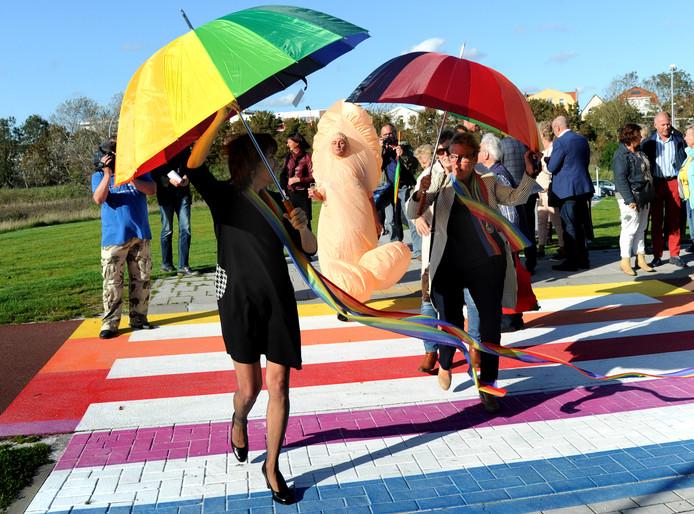 Opening gaybrapad in Vlissingen.