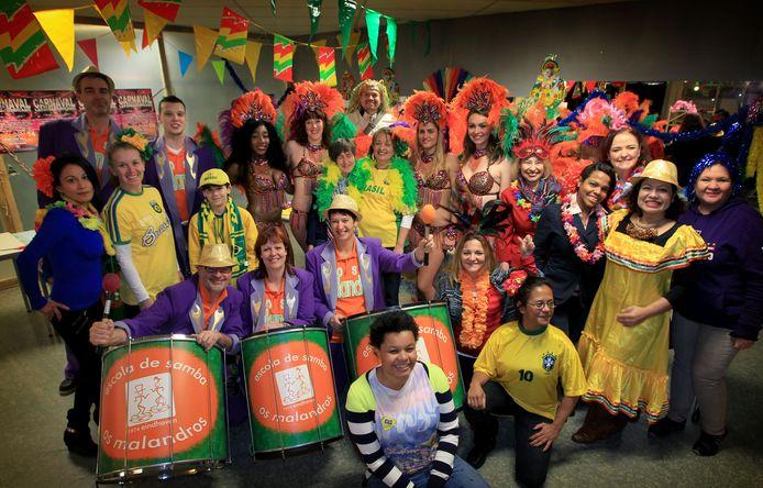 Foto ter illustratie: carnaval in The Hub in 2015.