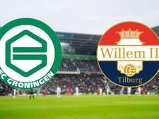 Groningen en Willem II op jacht naar eerste punt(en)