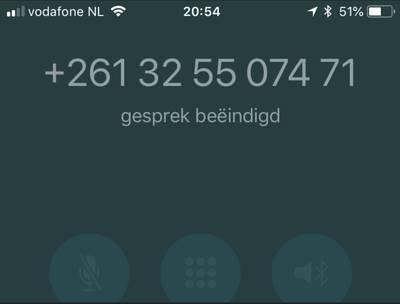 Duizenden fraudetelefoontjes uit Madagaskar