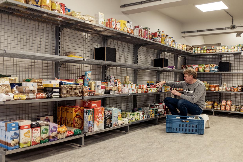 Onder de 3100 Amsterdammers die bij de Voedselbank komen, zijn 1575 kinderen. Beeld Jakob Van Vliet