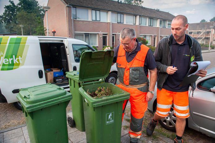Geen plastic tussen het groen? Dan krijg je in Waalwijk een groen label.
