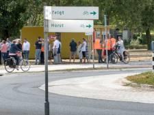 Westflank Ermelo open gefietst
