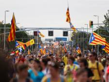 525.000 demonstranten in Barcelona, algemene staking legt Catalonië plat