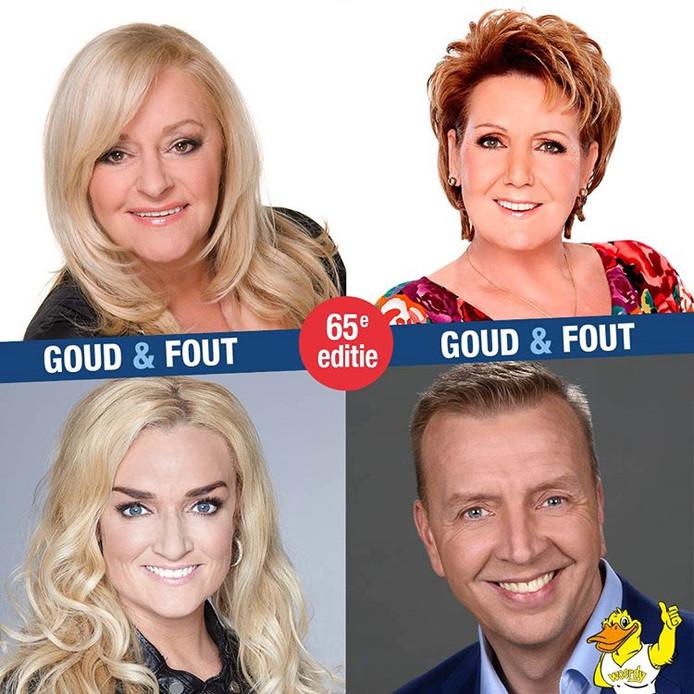 Jannes, Corry Konings, Marianne Weber en Samantha Steenwijk komen optreden tijdens de Woerdense Vakantieweek.