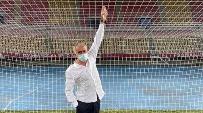 """""""Ik dacht dat ik gegroeid was"""": José Mourinho illustreert dat er iets schort aan Noord-Macedonische doelen"""