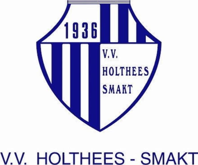 Het logo van vv Holthees-Smakt.