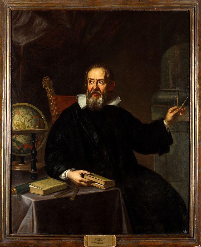Wetenschapper: Galileo Galilei. Beeld null