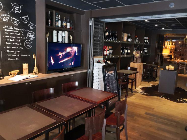 Het interieur van Grill De Vette Os in Veurne