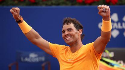 Autoritaire Nadal verovert elfde eindzege in Barcelona - Wickmayer opent op WTA Anning tegen Kroatische qualifier