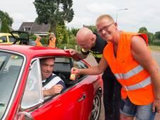 Snelheidsovertreders in Lutten krijgen sippe smiley