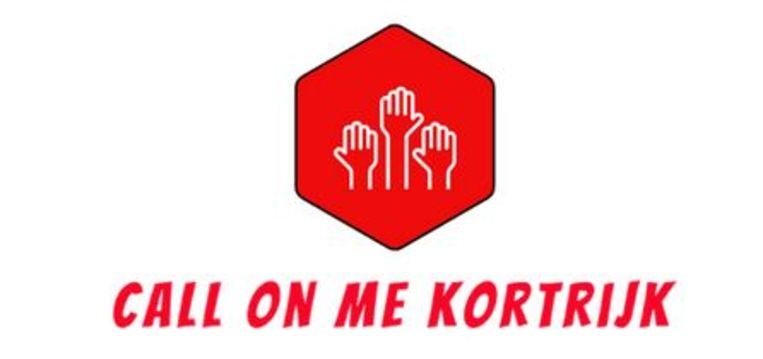 Het logo van Call On Me Kortrijk