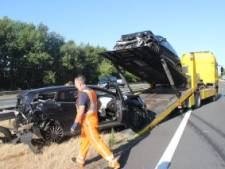 Ongeluk op A1 tussen Holten en Bathmen, drie personen gewond