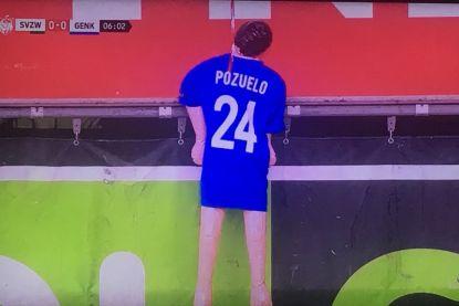 """POLL. Racing Genk vindt opgehangen pop van Pozuelo """"totaal onaanvaardbaar"""""""