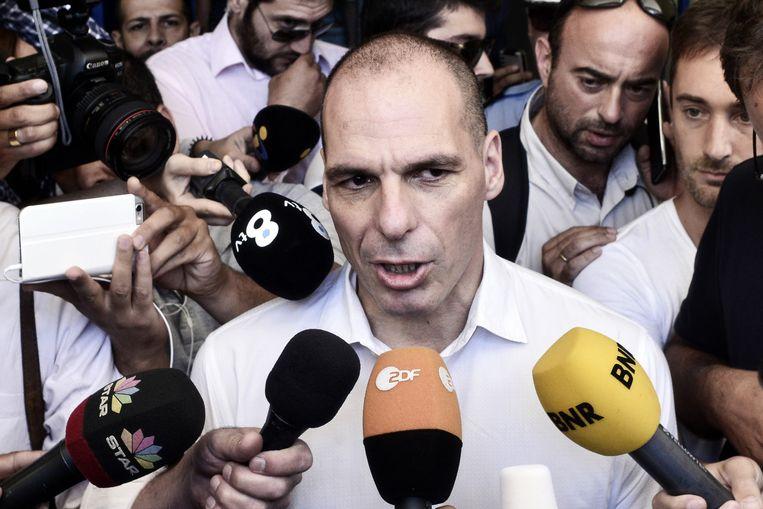 Yanis Varoufakis Beeld getty