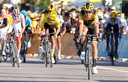 LA ROCHE-SUR-FORON, FRANCE - SEPTEMBER 17 :  VAN AERT Wout of Team Jumbo-Visma during stage 18 of the 107th edition of the 2020 Tour de France cycling race, a stage of 175 kms with start in Meribel and finish  in La Roche-Sur-Foron on September 17, 2020 in La Roche-Sur-Foron, France, 17/09/2020 ( Motordriver Kenny Verfaillie - Photo by Jan De Meuleneir / Photo News