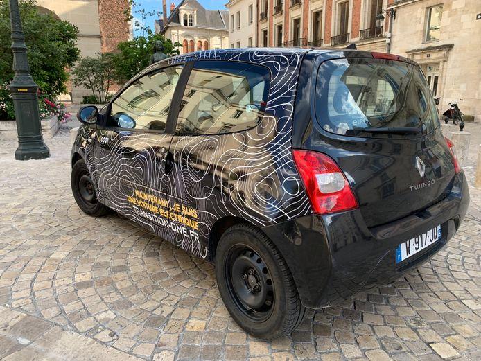 Tot nu toe is alleen deze Renault Twingo omgebouwd.