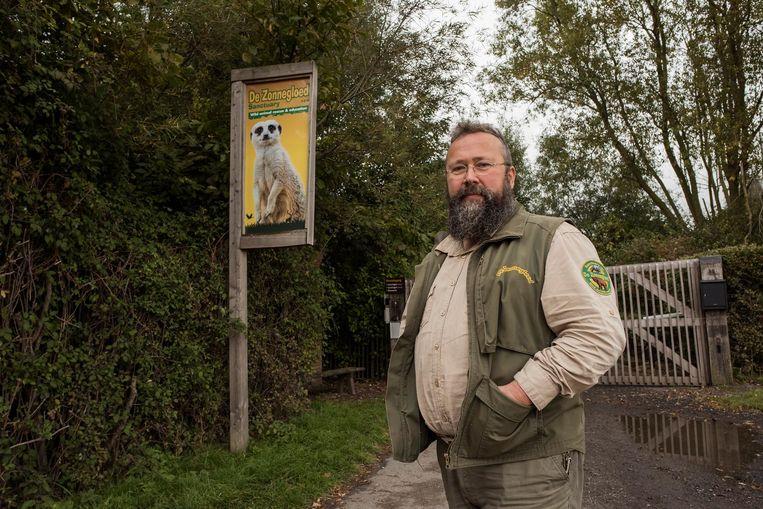 Verantwoordelijke Karel Ackaert van dierenopvangcentrum De Zonnegloed blikt tevreden terug op 2018.
