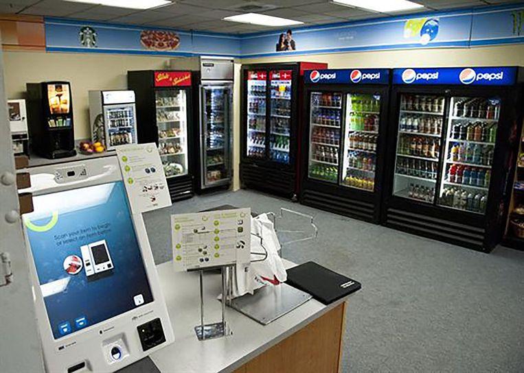 Het winkeltje van NORAD.