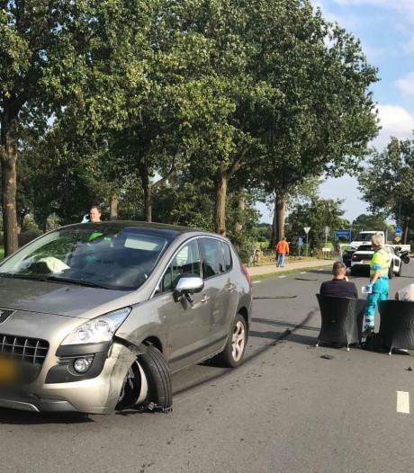 Auto's botsen in Stoutenburg, geen gewonden