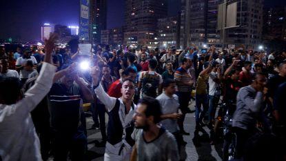 Schermutselingen in Egypte bij protesten tegen president