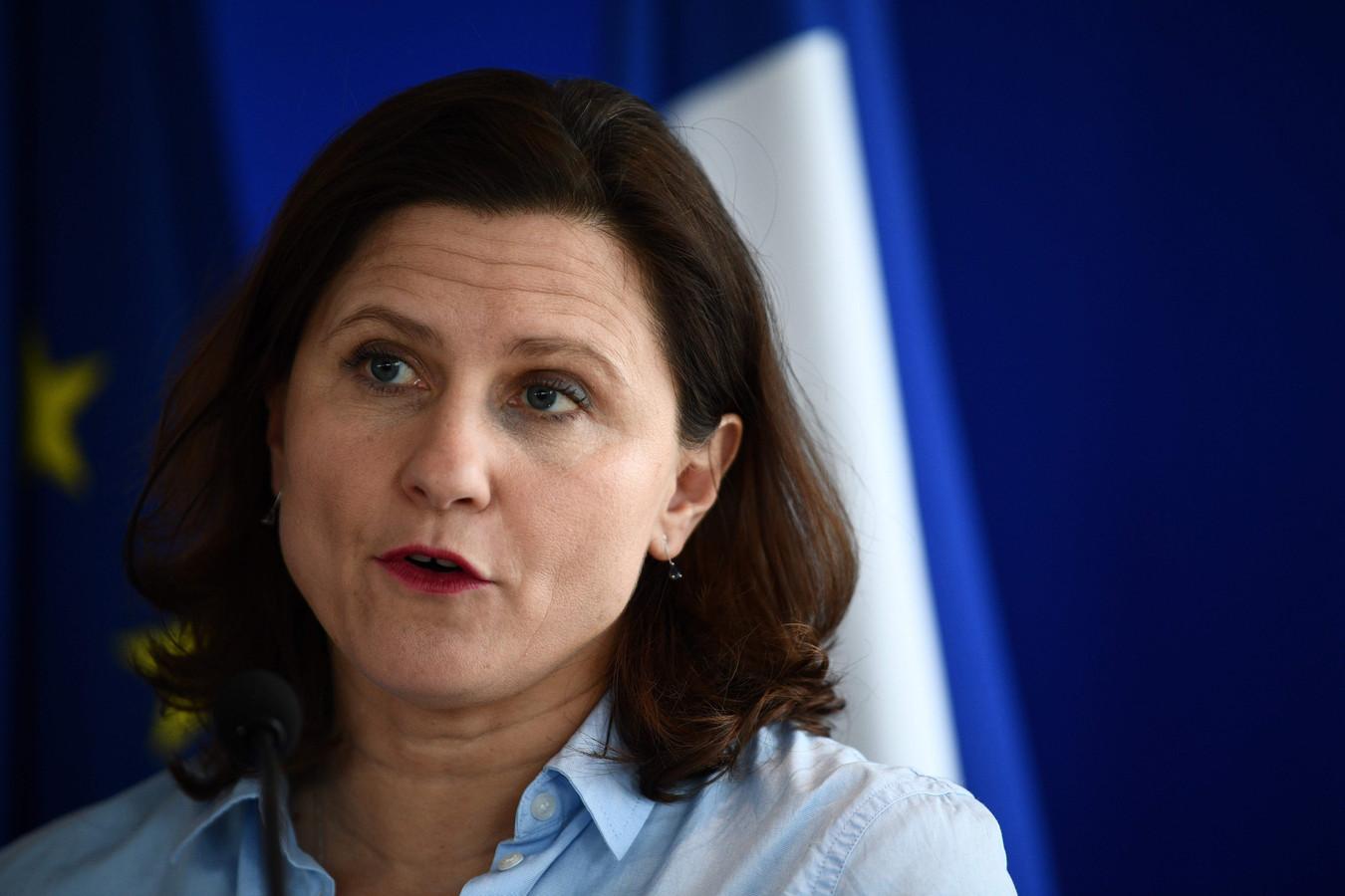 La ministre française des Sports Roxana Maracineanu.