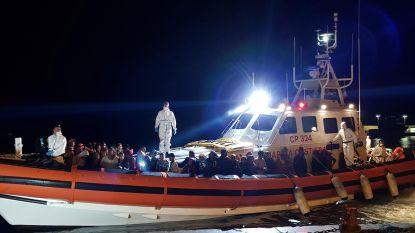 Zeventig migranten bereiken Italiaanse eiland Lampedusa