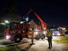 Schoorsteenbrand in Moergestel, Duyvekotstraat enige tijd afgesloten