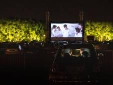 Un mois de films au cinéma drive-in de l'aéroport de Liège