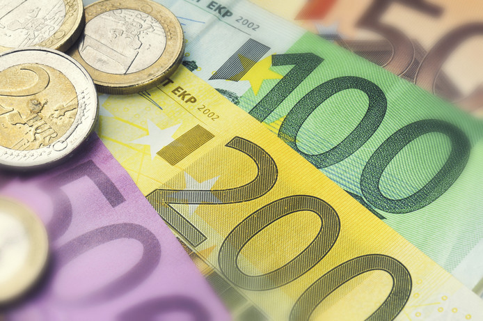Euro geld briefgeld stock stockfoto stockdnr