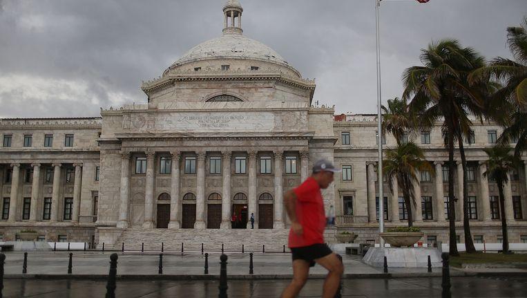 Het overheidsgebouw van Puerto Rico in San Juan. Beeld Getty Images
