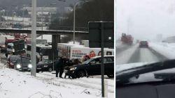 LIVE: Noodopvang voor duizend gestrande reizigers op Brussels Airport, reële kans op winterse neerslag tijdens ochtendspits