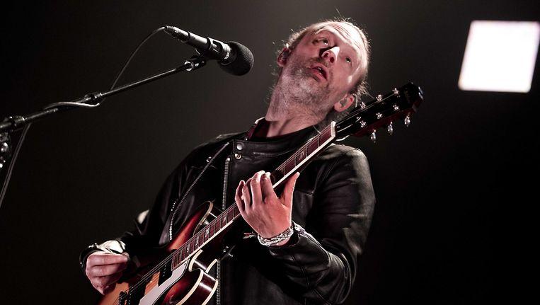 Thom Yorke van Radiohead in de Heineken Music Hall. Beeld anp