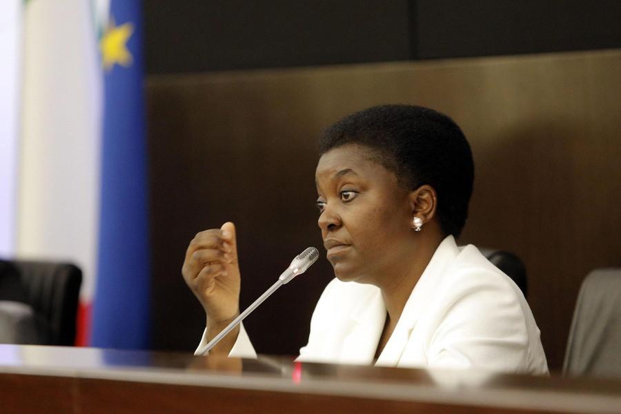 Minister Cecile Kyenge van Integratie