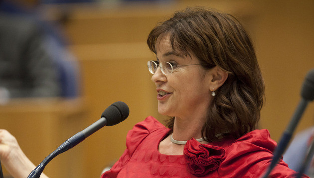 Groenlinks-fractievoorzitter Jolande Sap. © ANP