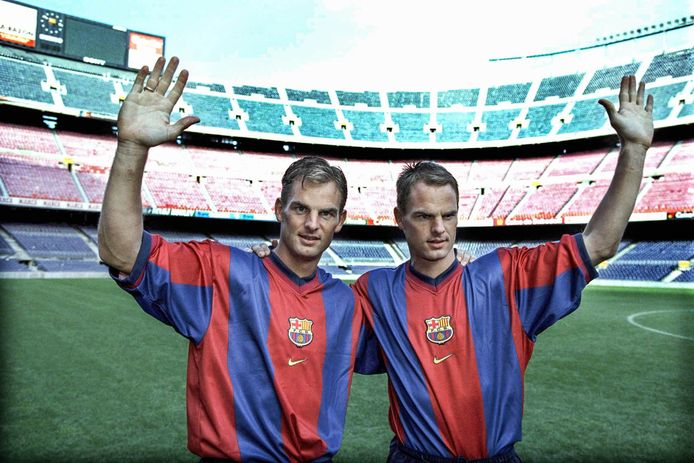 Ronald de Boer (L), Frank de Boer (R).