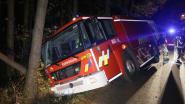 Brandweerwagen crasht op weg naar uitslaande brand
