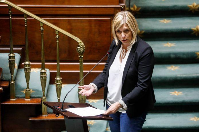 La députée socialiste Eliane Tillieux.