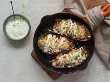 Wat Eten We Vandaag: Gevulde aubergine