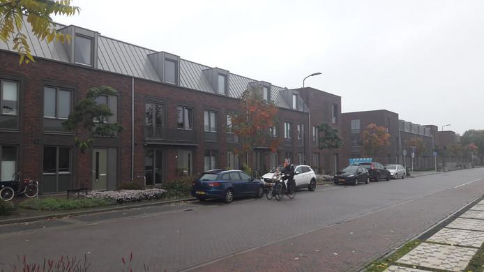 Nieuwbouw wijk Boschveld langs de Paardskerkhofweg.
