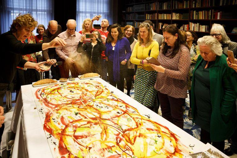 Het Foodie Festival is voor iedereen die van koken, boeken en eten houdt. Beeld Bob Bronshoff