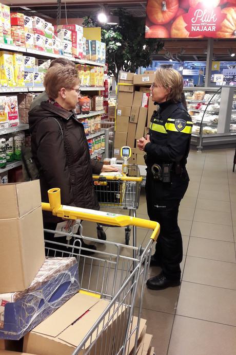 In Oirschot steelt de politie soms tasjes