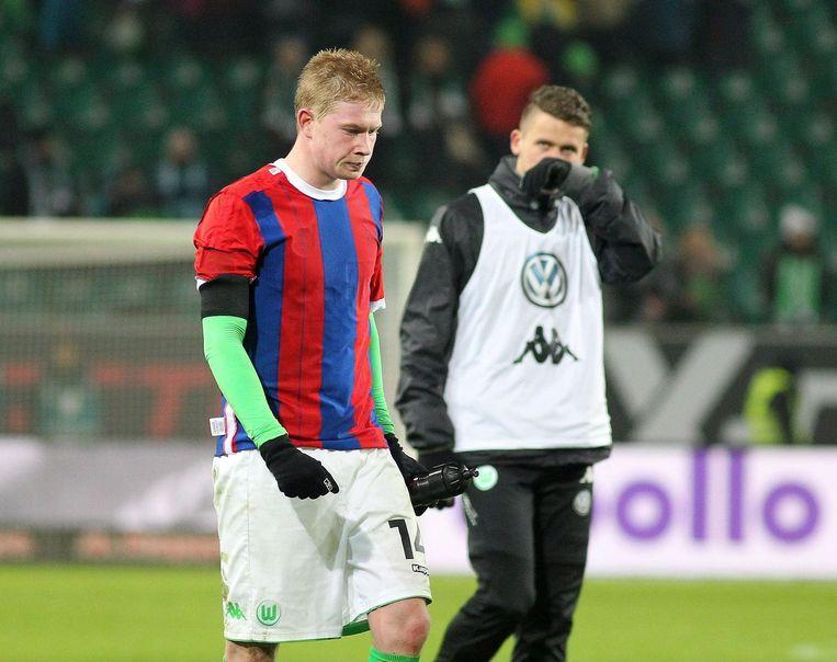 De Bruyne in een shirt van Bayern: het lijkt dus niet voor meteen.