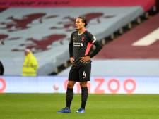 Van Dijk over afstraffing bij Aston Villa: 'We moeten weer aan de bak, maar eerst wacht Oranje'