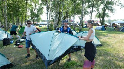 Het aftellen kan echt beginnen: eerste kampeerders komen aan op dancefestival elrow Town