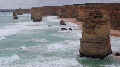 Spectaculair uitzicht: de befaamde Twaalf Apostelen van Australië vanuit de lucht