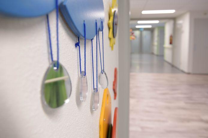 Een kinderafdeling van een ziekenhuis.