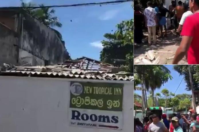 Een van de explosies vond plaats in een hotel tegenover de dierentuin van Colombo.